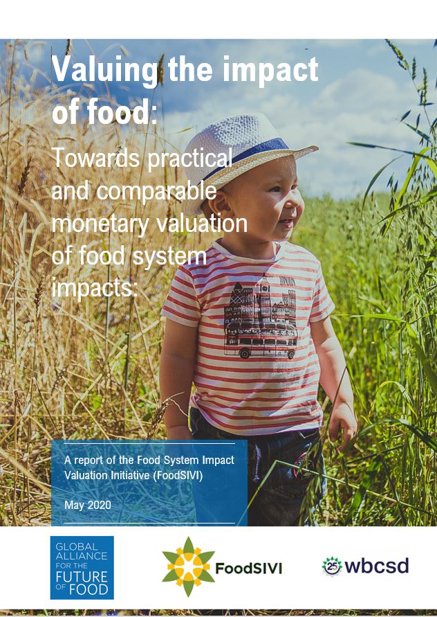 Valuing the impact of food - FoodSIVI Report