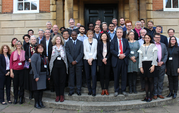 participants of the Foresight4Food workshop in Oxford