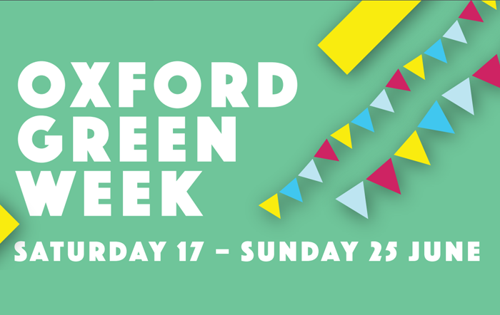 Oxford Green Week brochure cover